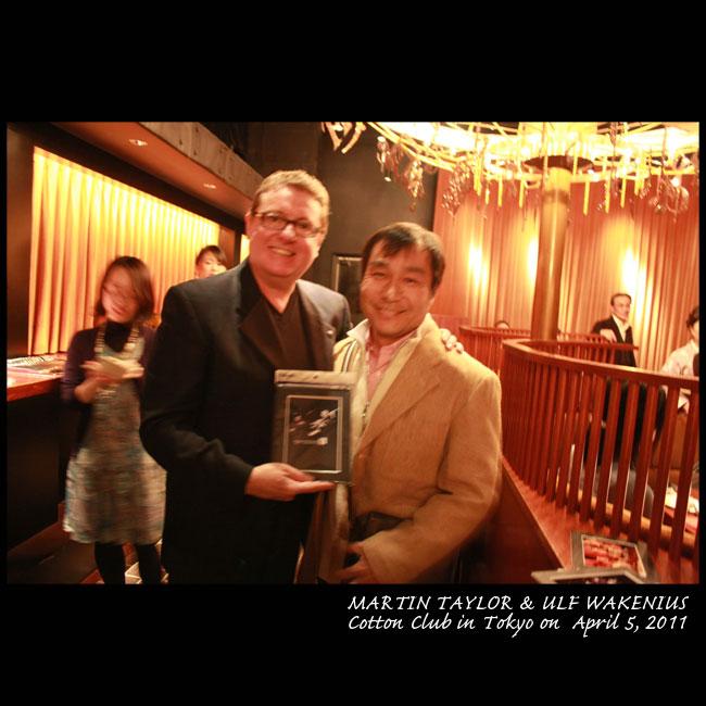 Jimmy Cobb(ds)海野雅威 trio in Cotton Club 2010.12.8.